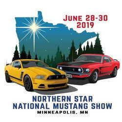 Northern Star National Mustang Show MotionU - Minneapolis muscle car show